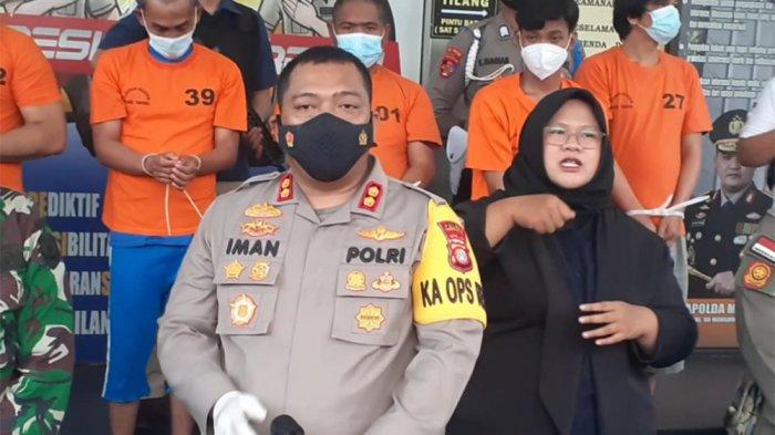 Kapolres Tangsel AKBP Iman Imanuddin di Mapolres Tangsel, Jalan Raya Promoter, Serpong, Jumat (19/3/2021).