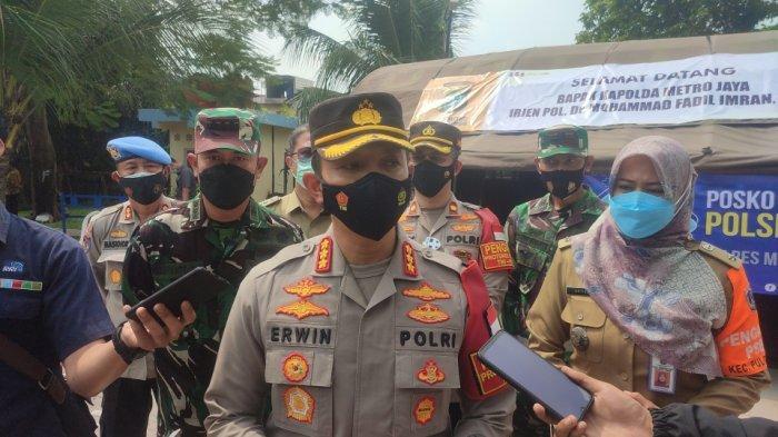 150 Petugas Gabungan Dikerahkan untuk Razia PPKM di Jakarta Timur