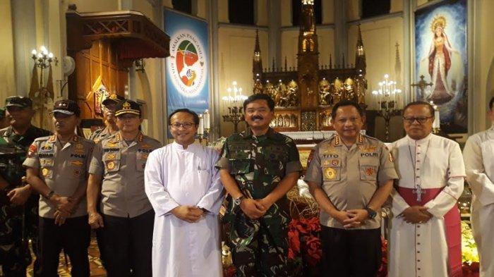 Kapolri Pastikan Misa Malam Natal 2018 Aman dan Lancar