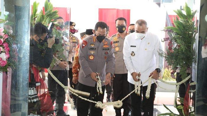 Kapolri Resmikan Gedung Baru Polresta Tangerang