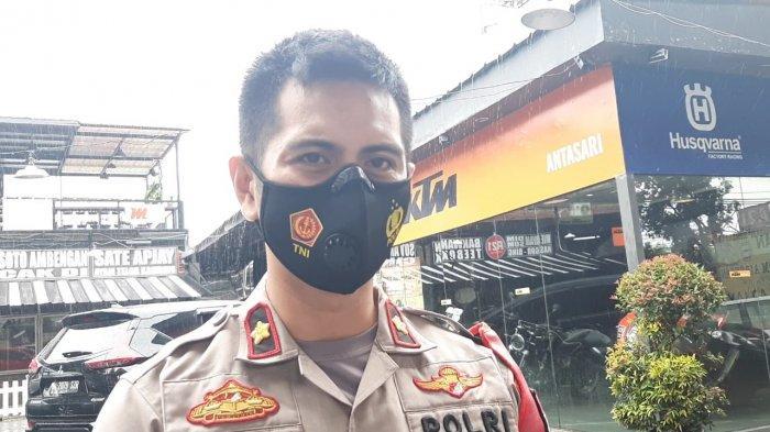 Kapolsek Cilandak Kompol Iskandarsyah saat ditemui di lokasi pembegalan sopir taksi di Jalan Pangeran Antasari, Cilandak, Jakarta Selatan, Kamis (25/3/2021).