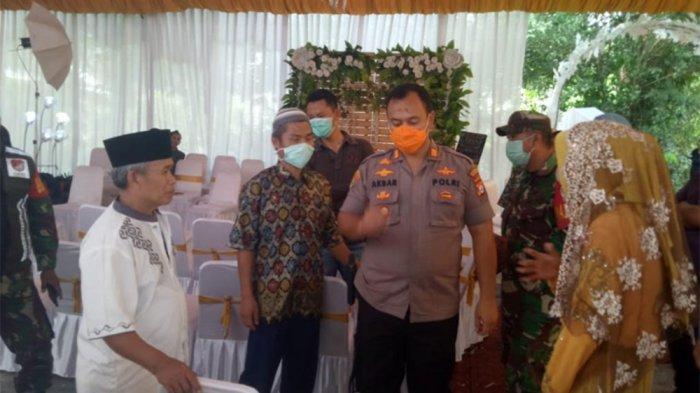 Prasmanan dan Kursi Tamu Sudah Ditata, Pesta Pernikahan di Cisoka Terpaksa Dibubarkan