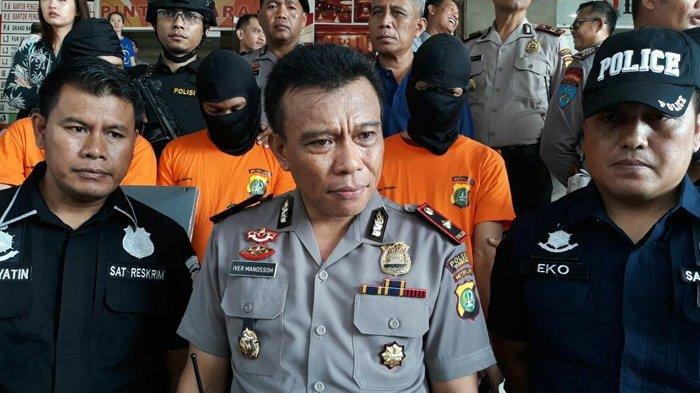 Polsek Tambora Laksanakan Blue Light Patrol Antisipasi Kejahatan di Akhir Pekan