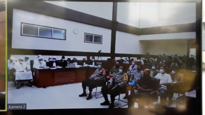 Kapolsek Tebet dan Eks Lurah Petamburan jadi Saksi Sidang Rizieq Shihab