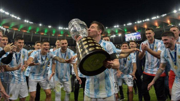 Rapor Luar Biasa Lionel Messi di Copa America 2021: Pemain Terbaik, Top Scorer dan Juara