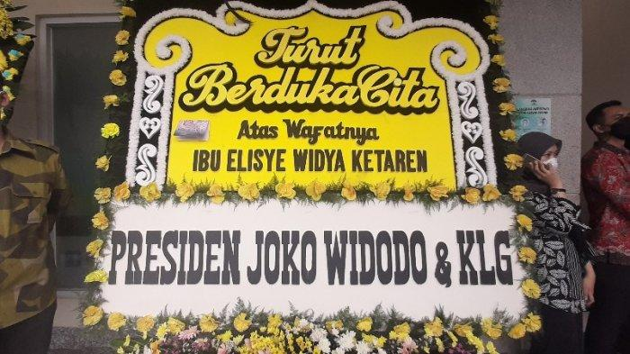 Istri Yasonna Meninggal, Jokowi dan Sejumlah Pejabat hingga Kepala Daerah Kirim Karangan Bunga