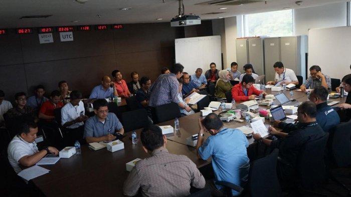 Puluhan Karyawan Garuda Indonesia Belajar Simulasi Tanggap Darurat Penerbangan