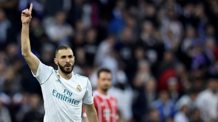Jelang 'Big Match' Real Madrid vs AS Roma Malam Ini, Karim Benzema Berikrar Bawa El Real Juara