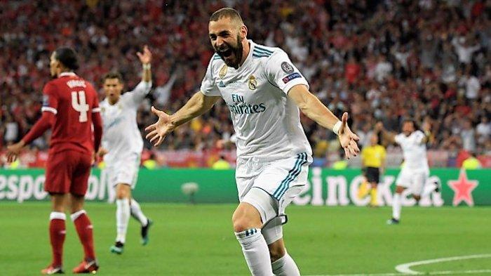 Hasil Liga Spanyol - Gol Karim Benzema Selamatkan Real Madrid dari Kekalahan