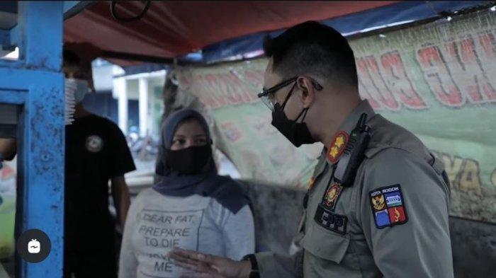 Cara Kasatpol PP Kota Bogor Beri Arahan Pedagang Patuhi PPKM Dipuji, Addie MS: Semoga Menginspirasi