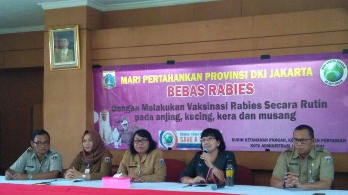 Sudin Ketahanan Pangan, Kelautan dan Pertanian Jakpus Pastikan Wilayahnya Bebas Bahaya Rabies