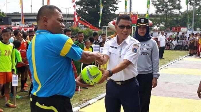 Festival Olahraga Sepanjang Tahun: Futsal Tingkat Kecamatan Tambora Resmi Dibuka Hari Ini