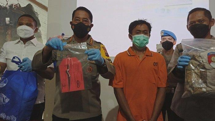 Pelaku pemutilasi ibu rumah tangga asal Banjarmasin