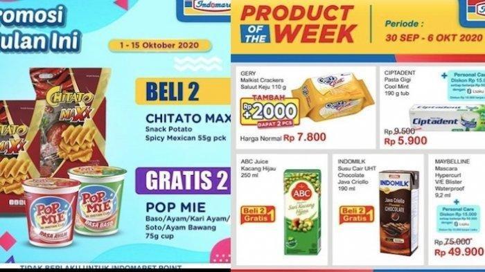 Promo Indomaret Awal Bulan Oktober 2020 Popok Susu Minyak Goreng Hingga Es Krim Beli 2 Gratis 1 Tribun Jakarta