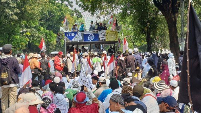 Banyak Bukti Kecurangan Ditolak, Massa Aksi Ingatkan MK Tidak Terlibat Konspirasi