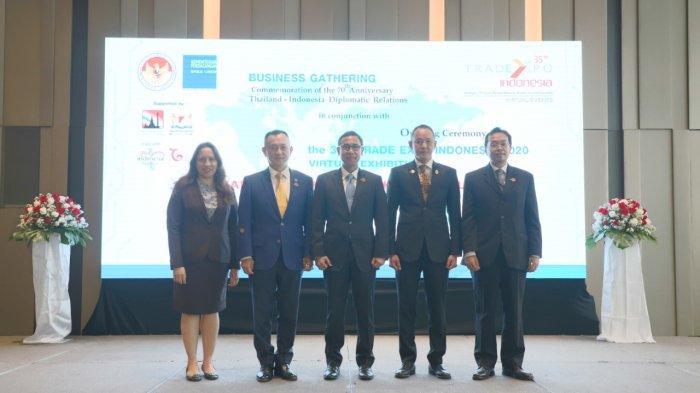 Melalui Trade Expo Indonesia 2020, RI Perkuat Hubungan Dagang dengan Thailand