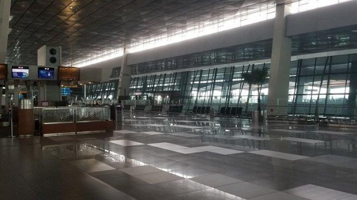 Penumpang di Bandara Soekarno-Hatta Merosot Drastis saat Masa Larangan Mudik