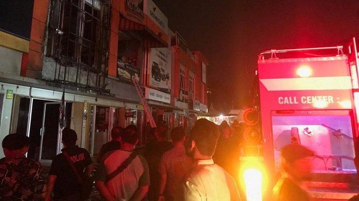 Tiga Ruko di Pasar Modern Bintaro Ludes Terbakar si Jago Merah