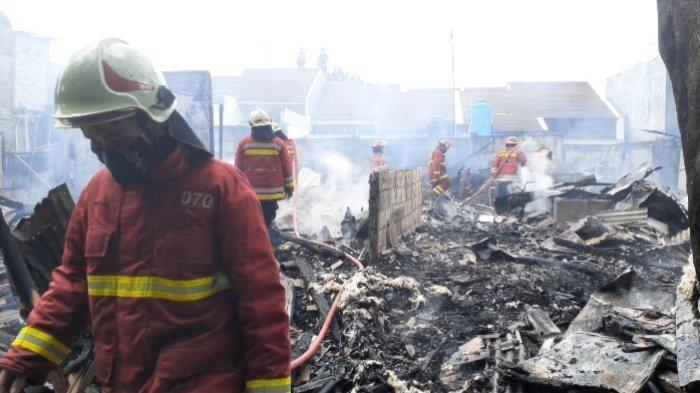Rumah di Pamulang Ludes Terbakar, Api Muncul dari Rumah Kontrakan yang Kosong