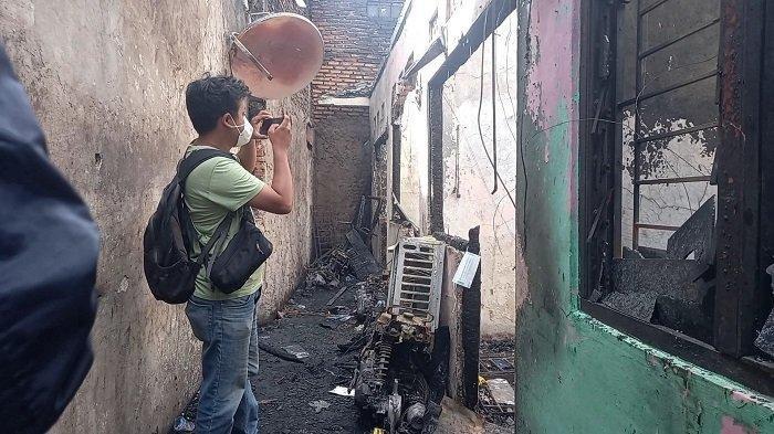 Kebakaran di RT 3/6, Matraman, Jakarta Timur yang menyebabkan 10 orang meninggal dunia
