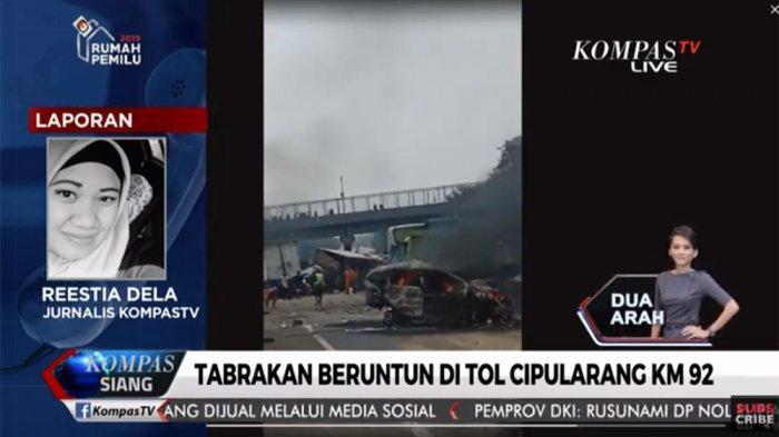 Polisi: 15 Mobil Terlibat Kecelakaan Beruntun di Tol Cipularang Km 92, 6 Meninggal dan 8 Luka-luka