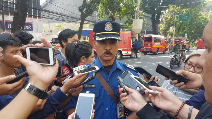 Evakuasi Korban Selamat Insiden Kebakaran Gedung Kemenhub Bertambah Jadi 20 Orang
