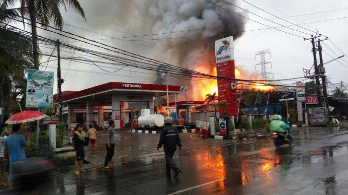 Pegawai Bakar SPBU Pramuka Jakarta Pusat Tutupi Rp 165 Juta yang Digelapkan: Uang untuk Foya-foya