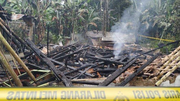 Satu Keluarga Tewas Akibat Kebakaran Rumah di Sukabumi