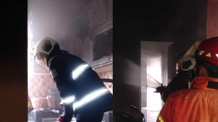 Tabung Gas 3 Kilogram Bocor, Dapur Rumah di Jatuluhur Bekasi Ludes Terbakar
