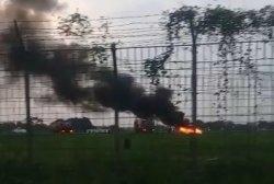 Beredar Informasi Pesawat Jatuh di Bandara Pondok Cabe, Ternyata Hoaks, Ini Fakta Sebenarnya