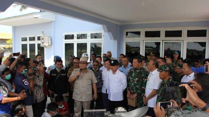 Menhan Prabowo Ajak Masyarakat Gotong Royong Hadapi Covid-19, Hilangkan Perbedaan Politik