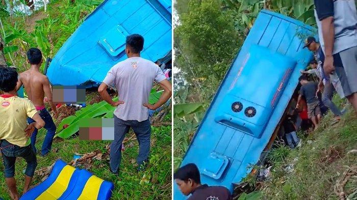 Tinggalkan Istri dan 2 Anak, Syaiful Korban Tewas Bus Maut di Sukabumi Duduk di Kursi Dekat Pintu