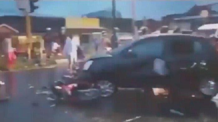Kecelakaan di Bantul, Kamis (28/1/2021), yang melibatkan EHSW, bocah 13 tahun asal Klaten, viral di media sosial.