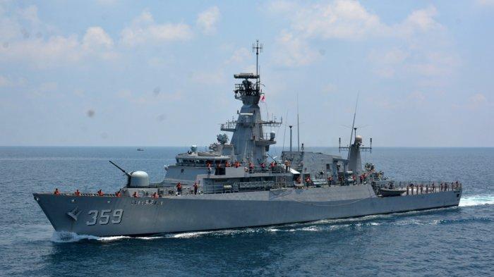 Kecelakan 14 Kapal Nelayan di Perairan Kalbar, TNI AL Kerahkan 2 KRI Lakukan Operasi Pencarian