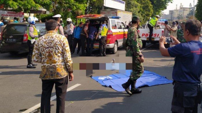Kaget Mobil Berhenti Mendadak, Wanita Pengendara Motor Tewas di Jalan Raya Margonda