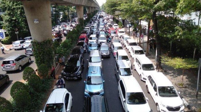 2.000 Driver Taksi Online Mitra Gojek datang dari Sumsel, Padang hingga Jabar Gelar Unjuk Rasa