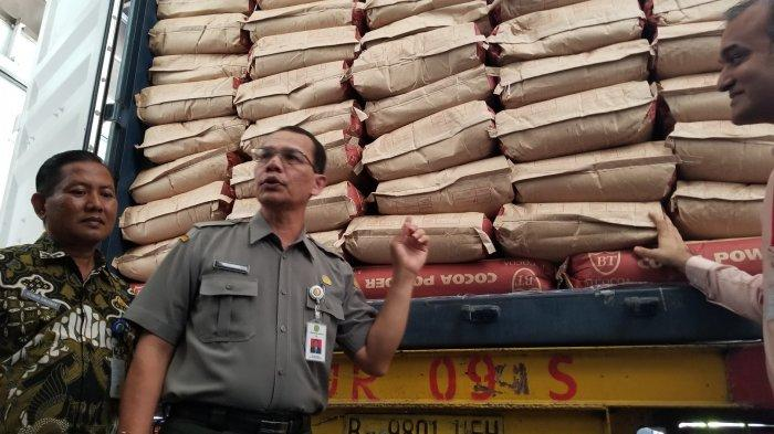 Kementerian Pertanian Ekspor Produk Olahan Kakao di Tangerang dengan Berat 197,5 Ton