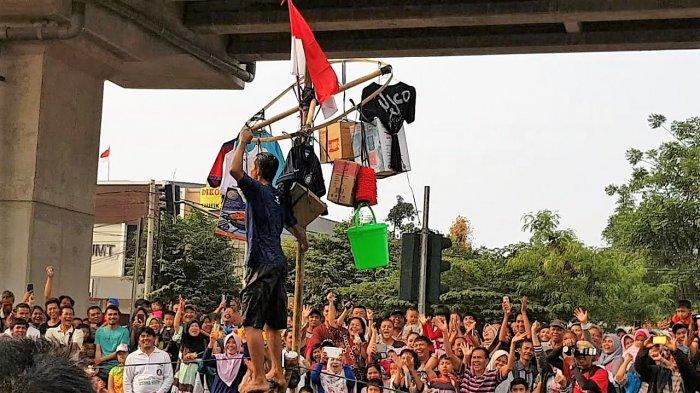 Masih Ada Warga di Jakarta Timur yang Gelar Lomba 17 Agustus