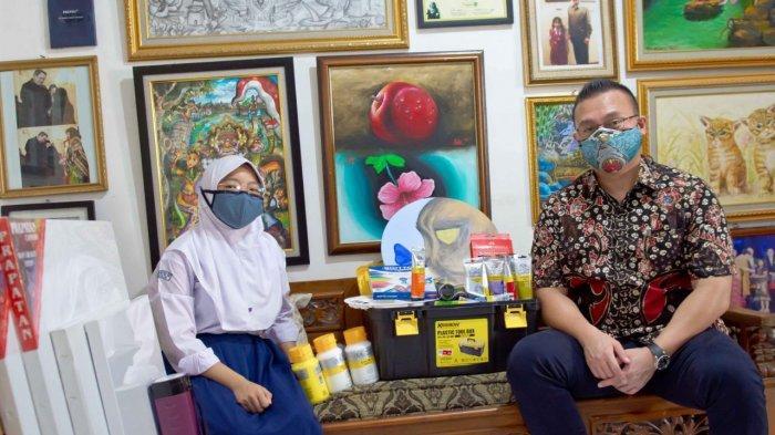 Pesan Anggota DPRD DKI Jakarta Kenneth ke Arista: Rajin Belajar agar Cita-Cita Tercapai
