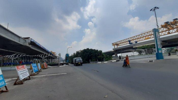 BERITA FOTO: Hari Pertama PSBB, Ruas Jalan di Bekasi Menuju Jakarta Lengang - kendaraan-di-bekasi-turun-drastis.jpg