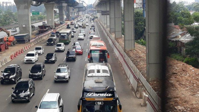 Area Pemberlakuan Sistem Satu Arah Diperpanjang Hingga KM 29 Tol Jakarta Cikampek