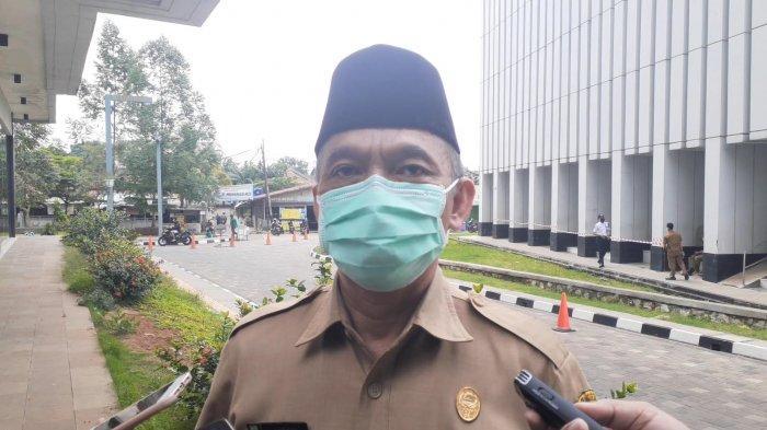 Kepala Badan Kepegawaian Pendidikan dan Pelatihan (BKPP) Tangsel, Apendi di Kantor Pemkot Tangsel, Jalan Maruga, Ciputat, Senin (21/9/2020).