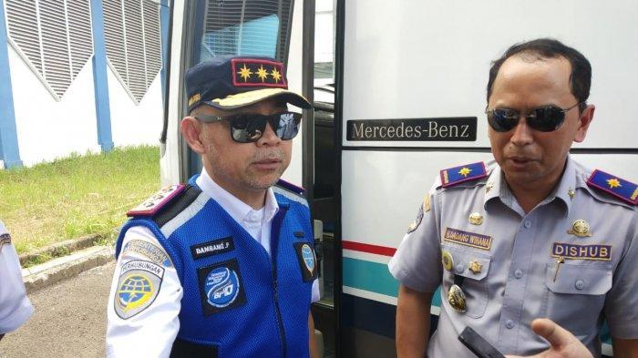 Jelang Ramadan, BPTJ Serta Dishub Kota Depok Cek Kesiapan Bus dan Sopir di Terminal Jatijajar