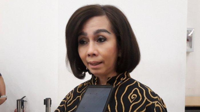 Kepala Dinas Kehutanan DKI Jakarta Suzi Marsitawati di Balai Kota DKI Jakarta, Kamis (28/3/2019).