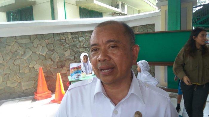 Kepala Dinas Pendidikan dan Kebudayaan Tangerang Selatan (Tangsel), Taryono, usai menghadiri sebuah acara di Al-Azhar BSD, Serpong, Tangsel, Rabu (22/1/2020).