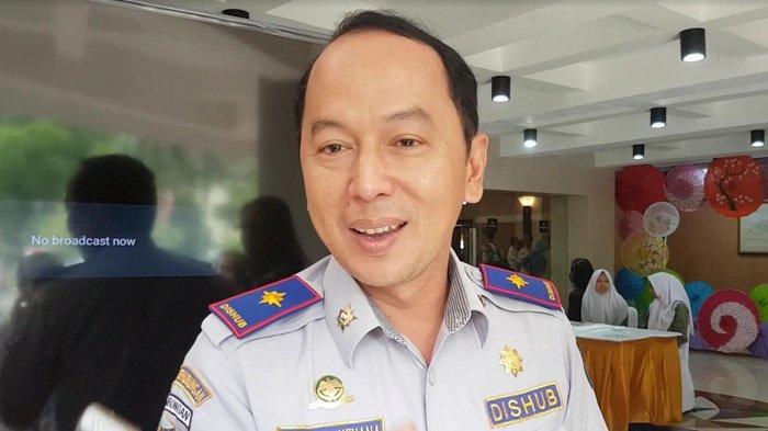 Kepala Dinas Perhubungan Kota Depok Dadang Wihana saat dijumpai wartawan, Rabu (13/3/2019)