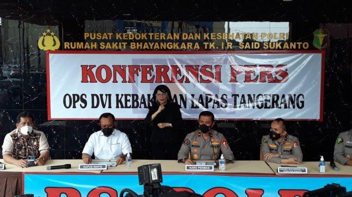 4 Jenazah Korban Kebakaran Lapas Tangerang Teridentifikasi, 2 Warga Jakarta