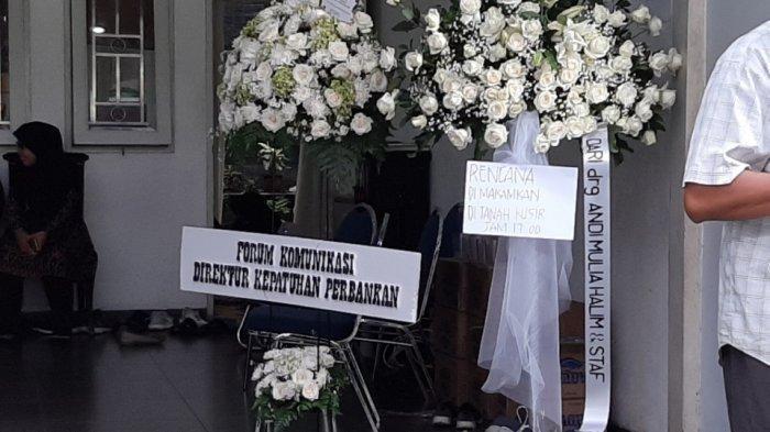 Jenazah Kepala PPATK Kiagus Badaruddin Dimakamkan di TPU Tanah Kusir Sore Ini