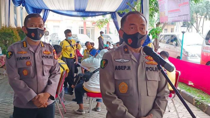 RS Polri Kramat Jati Suntik Vaksin Covid-19, 500 Juru Parkir di Jakarta