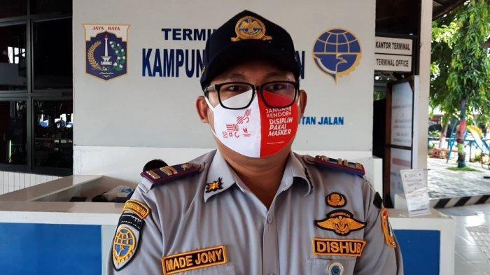 Kepala Terminal Kampung Rambutan, Made Jony, Sabtu (19/12/2020).